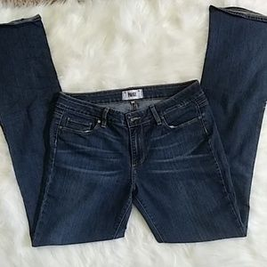 PAIGE Jeans Canyon Baby Boot Cut Jeans 31